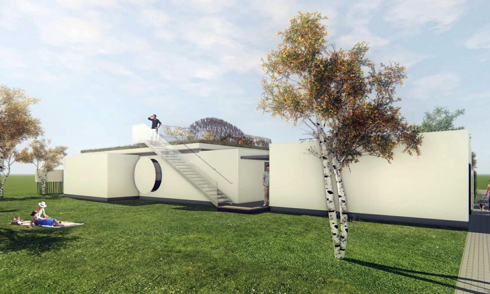 Maison ASIE - Perspective 2