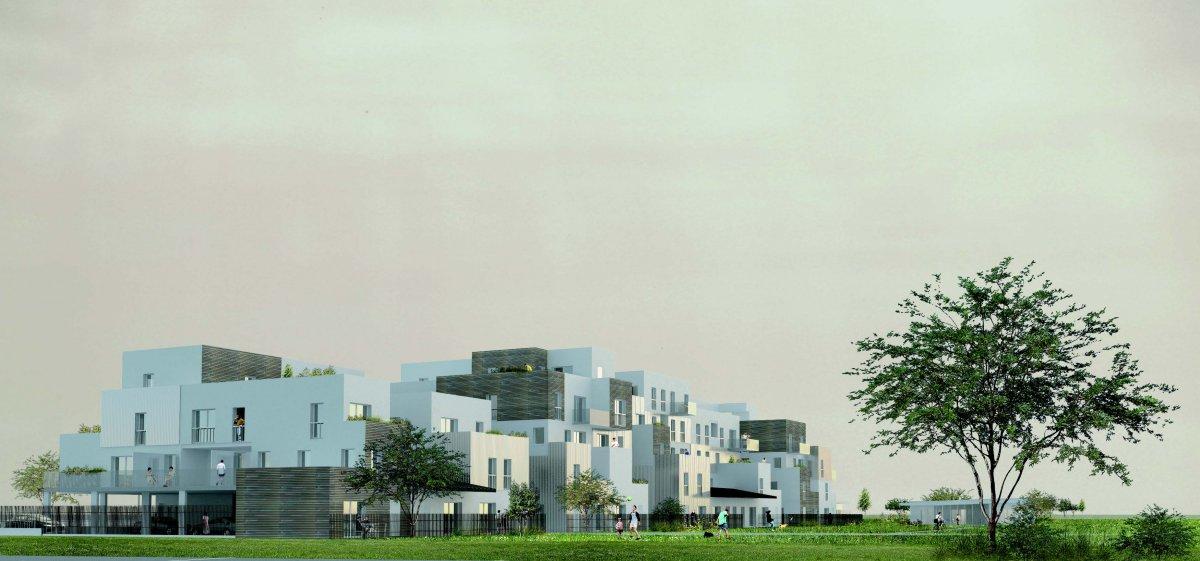 L 39 immeuble collectif en images konekti l habitat for Habitat de champagne