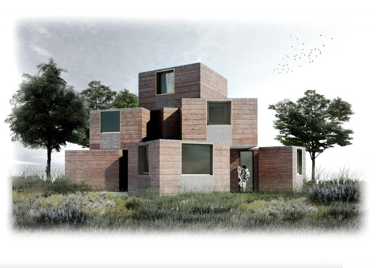 Maison afrique konekti l habitat innovant de champagne for Habitat de champagne