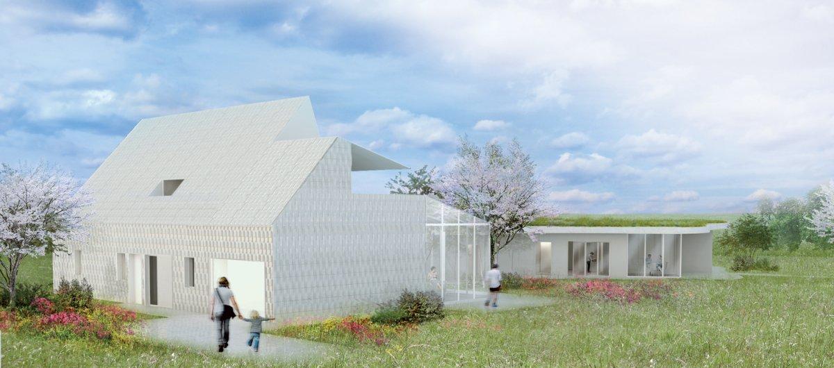 Maison 5 1 konekti l habitat innovant de champagne for Habitat de champagne